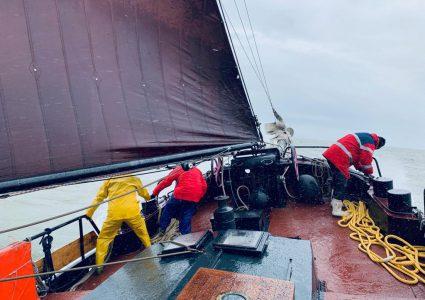 segeln auf dem IJsselmeer oder Wattenmeer
